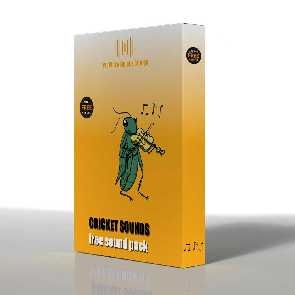 Cricket Sounds Pack | Orange Free Sounds
